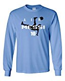 Long Sleeve Lionel Messi Argentina &quot;Air Messi&quot;T-Shirt #Messi #BallondOr #ElClasico &gt; http:// tinyurl.com/ydfrr6mh  &nbsp;  &lt;<br>http://pic.twitter.com/vzueQxUcXf