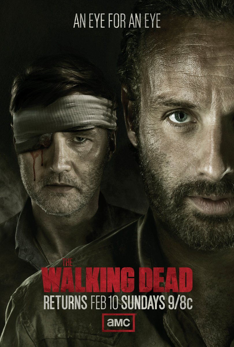#FlashbackFriday to this amazing key art from #TheWalkingDead Season 3...