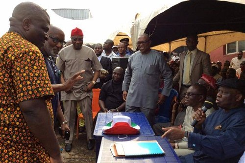 The Anambra State PDP Caretaker Committee led by ABC Nwosu, effectively took over Party's Secretariat & inaugurated LG Area Caretaker Committees.
