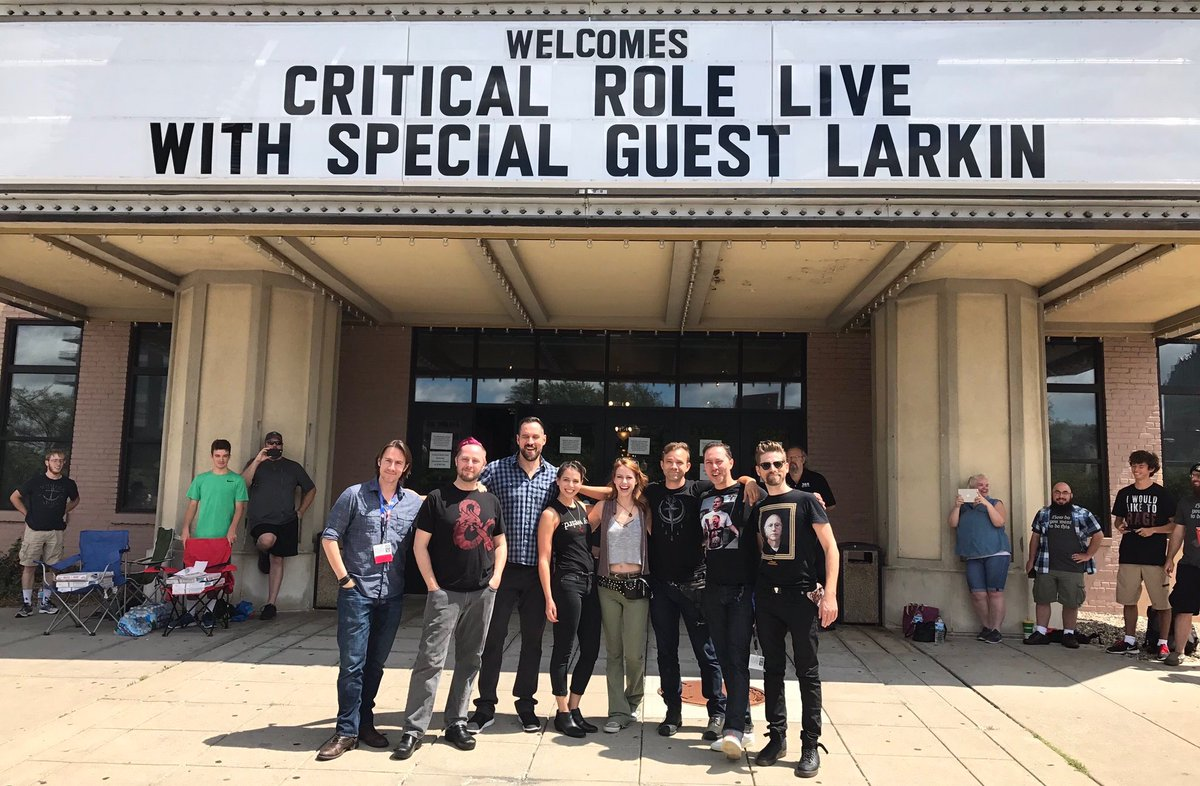 Doors are open for #CriticalRole Live at #GenCon50! #GenCon https://t....
