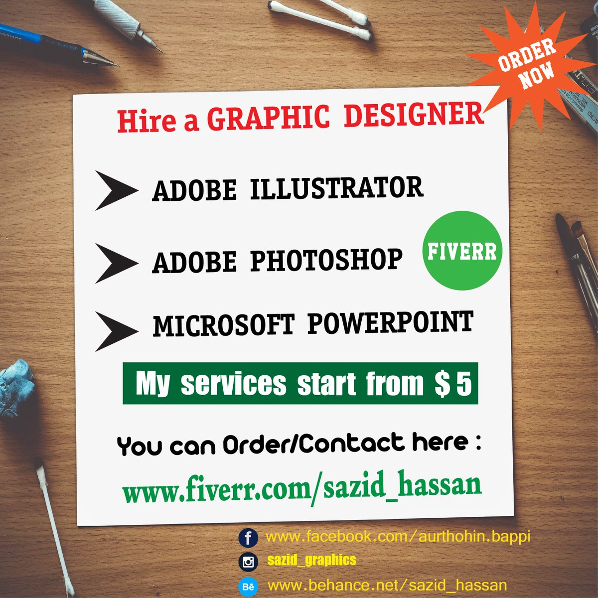 Just contact here :  http://www. fiverr.com/sazid_hassan  &nbsp;   to get any graphic related task done #banner #logo #businesscard #map #Flyers #thumbnail #vector<br>http://pic.twitter.com/QMlyl0iFUi
