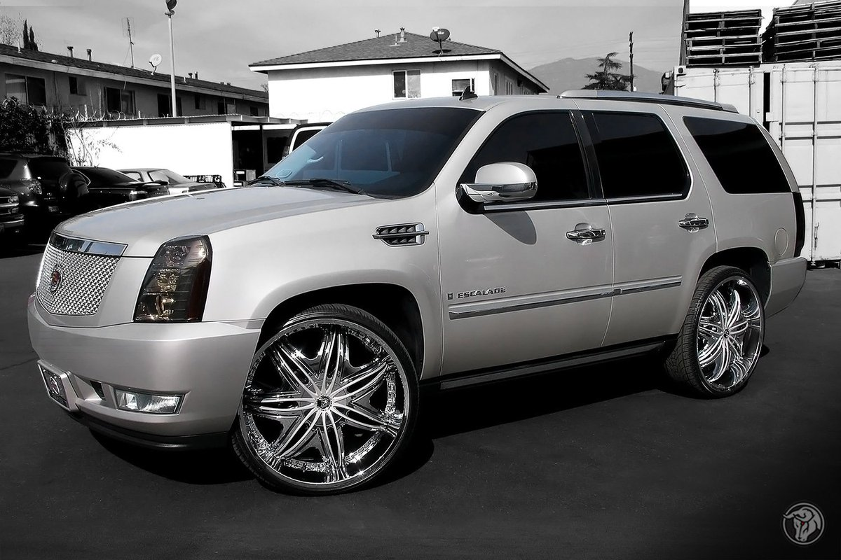 and pin gold cadillac escalade forgiato on gianelle rims by wheels rose
