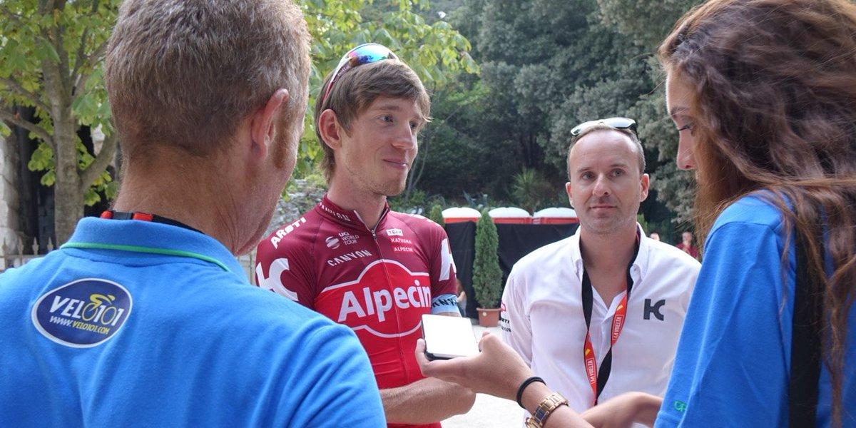 #Cyclisme #Vuelta2017 #ClindOeil Le site #Velo101 interview le dossard... 101: Ilnur Zakarin @katushacycling<br>http://pic.twitter.com/SNt7ApMZ4s