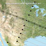 On Monday, the US will witness its first total solar #eclipse since 1979. It will be visible in every state. Where will you be? #Eclipse2017