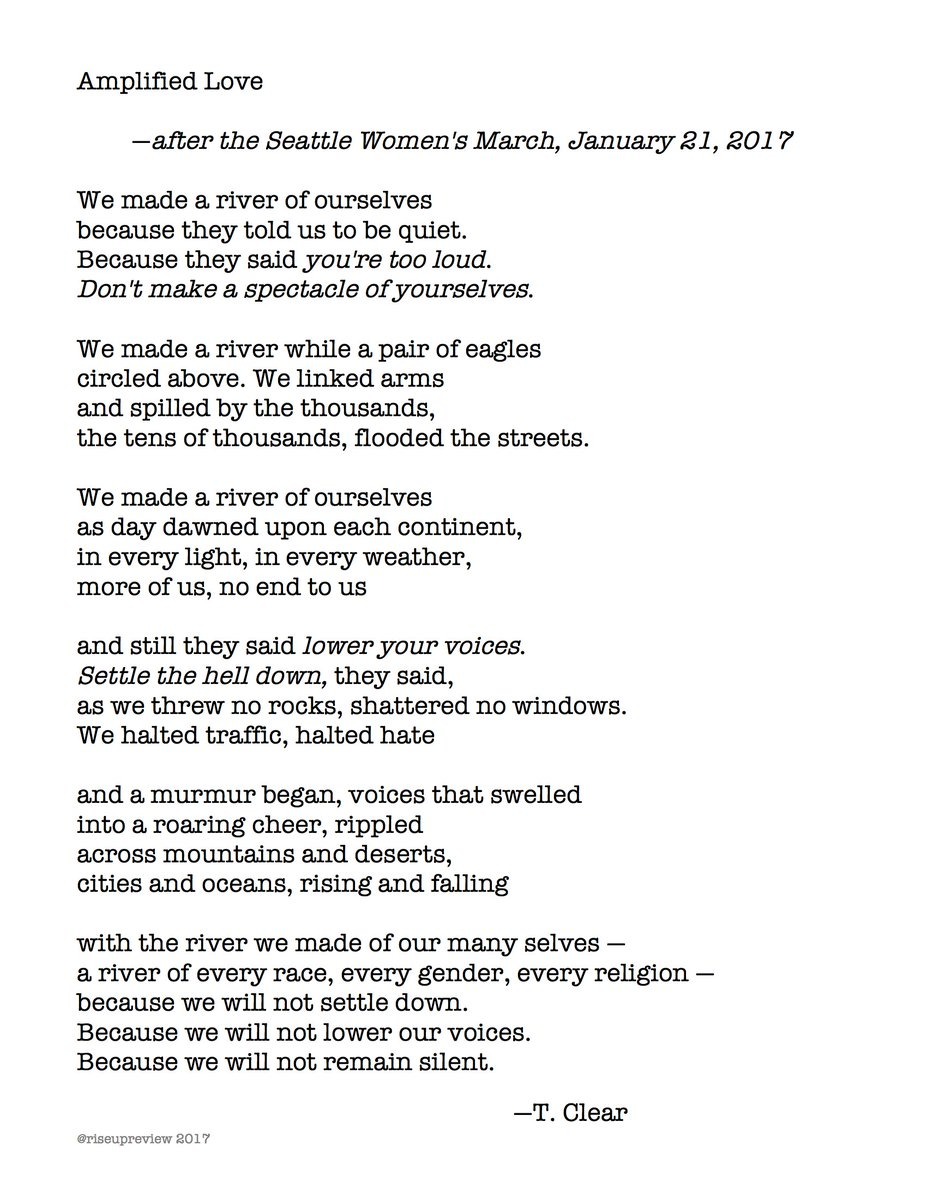 Rise Up Review On Twitter Todays Featured Poem On Httpstco