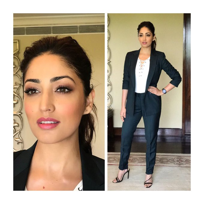 Quiet SUITed for the launch of @COMIO_IN mobile in India 😎 Styled by @stylebyami..hair/make-up @Danielcbauer..@meenal16 #TeamLove https://t.co/3yKeKge0fR