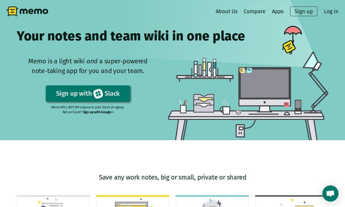 Memo: Your #notes and #team wiki in one place   https:// buff.ly/2w1KGuU  &nbsp;   by @MemoAIHQ<br>http://pic.twitter.com/KfR3ivdCKa