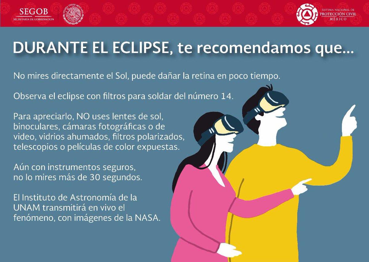 Observa el #Eclipse con filtros para soldar del número 14. https://t.c...