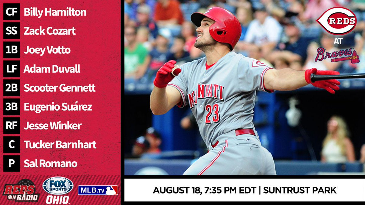 PREVIEW: #Reds make first-ever trip to SunTrust Park for series with B...