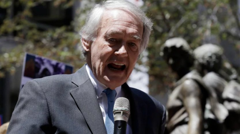 Here's Ed Markey's three-word response to the Steve Bannon news https://t.co/cQV4Gz3W6L