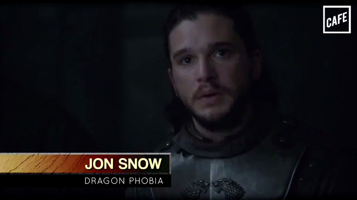 Beautiful: watch as Jon Snow is cured of his extreme dragon phobia. (@LENN0Z for CAFE)
