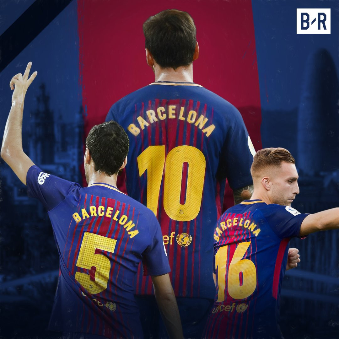 There will be no names on the back of Barcelona's shirts this weekend,...