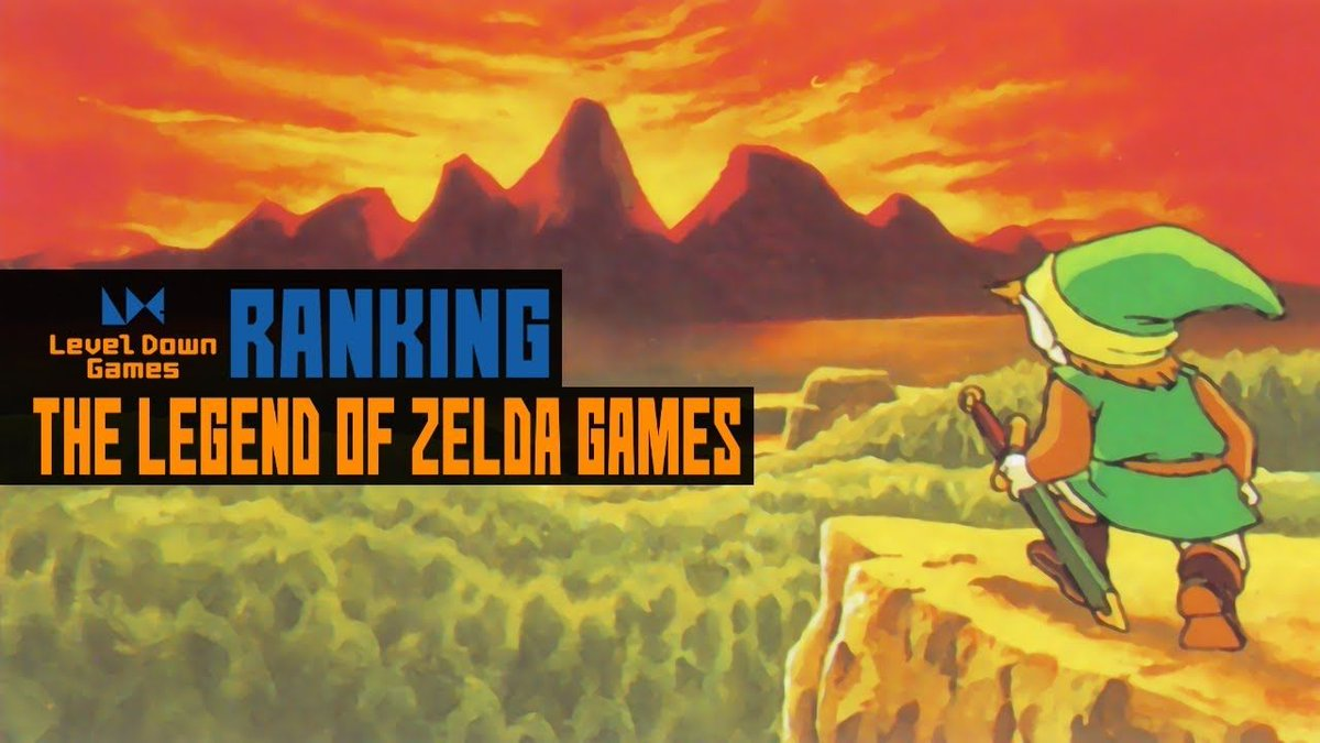 """level down games on twitter: """"the legend of zelda games ranked"""