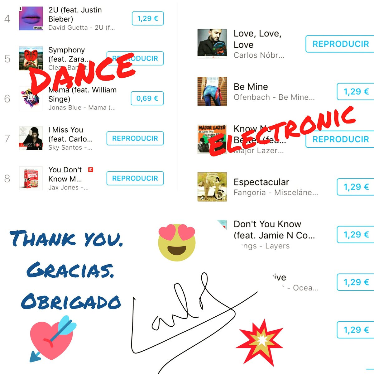 That is all   #LoveLoveLove  1  #Itunes Spain #Electronic   #IMissYou (4 years later ) * 7 #Dance   Download  Gracias #music #TAOML<br>http://pic.twitter.com/Ul4dqVkanM