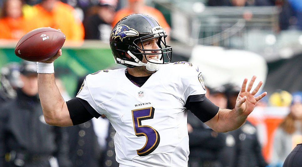 Ravens' Joe Flacco is still not ready to return https://t.co/qXjKTGzP4...