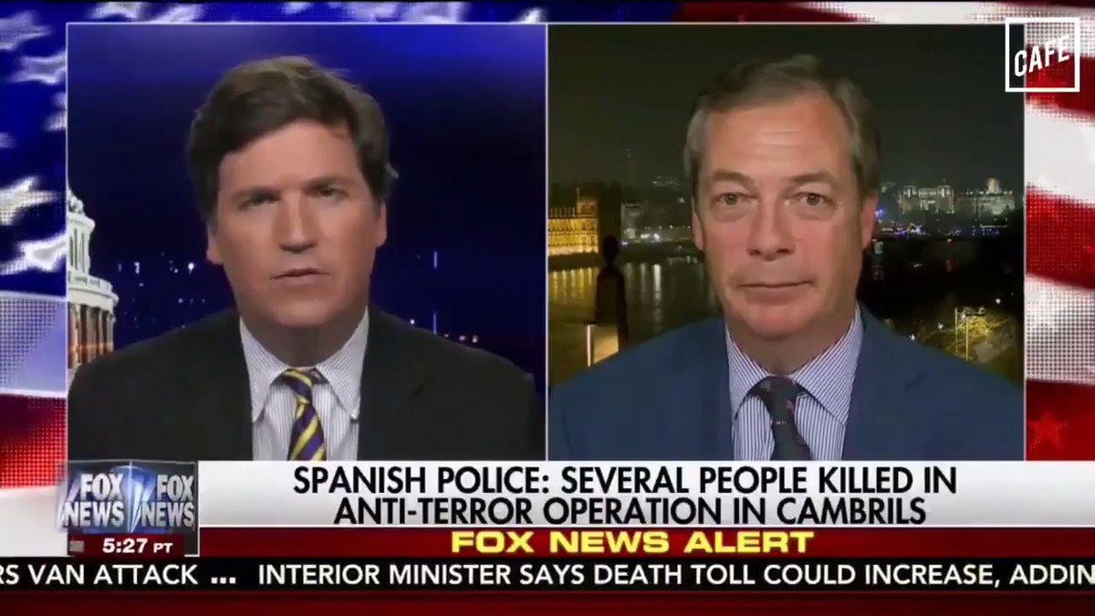 Once again, it appears as though Tucker Carlson has forgotten who exactly is in charge right now. (@BriHaynie for CAFE)
