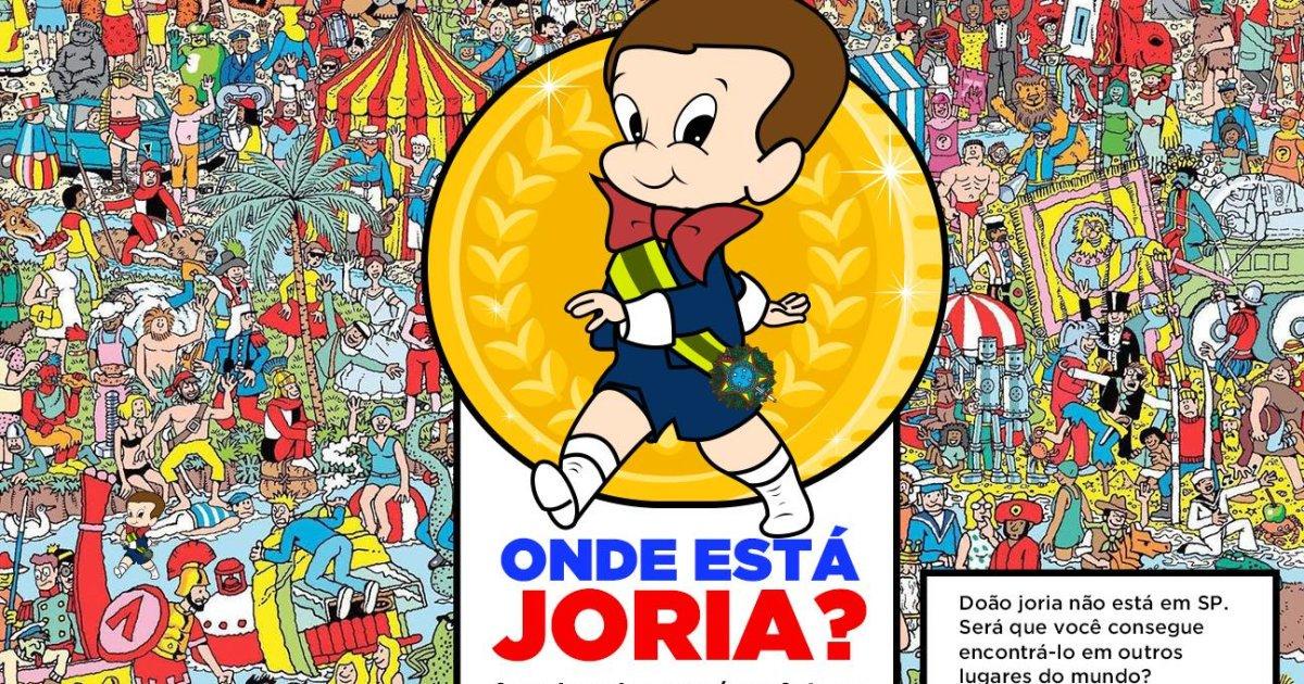 As viagens de João Doria pelo mundo ganharam uma versão de 'Onde Está Wally?' https://t.co/gvfJLsySLv