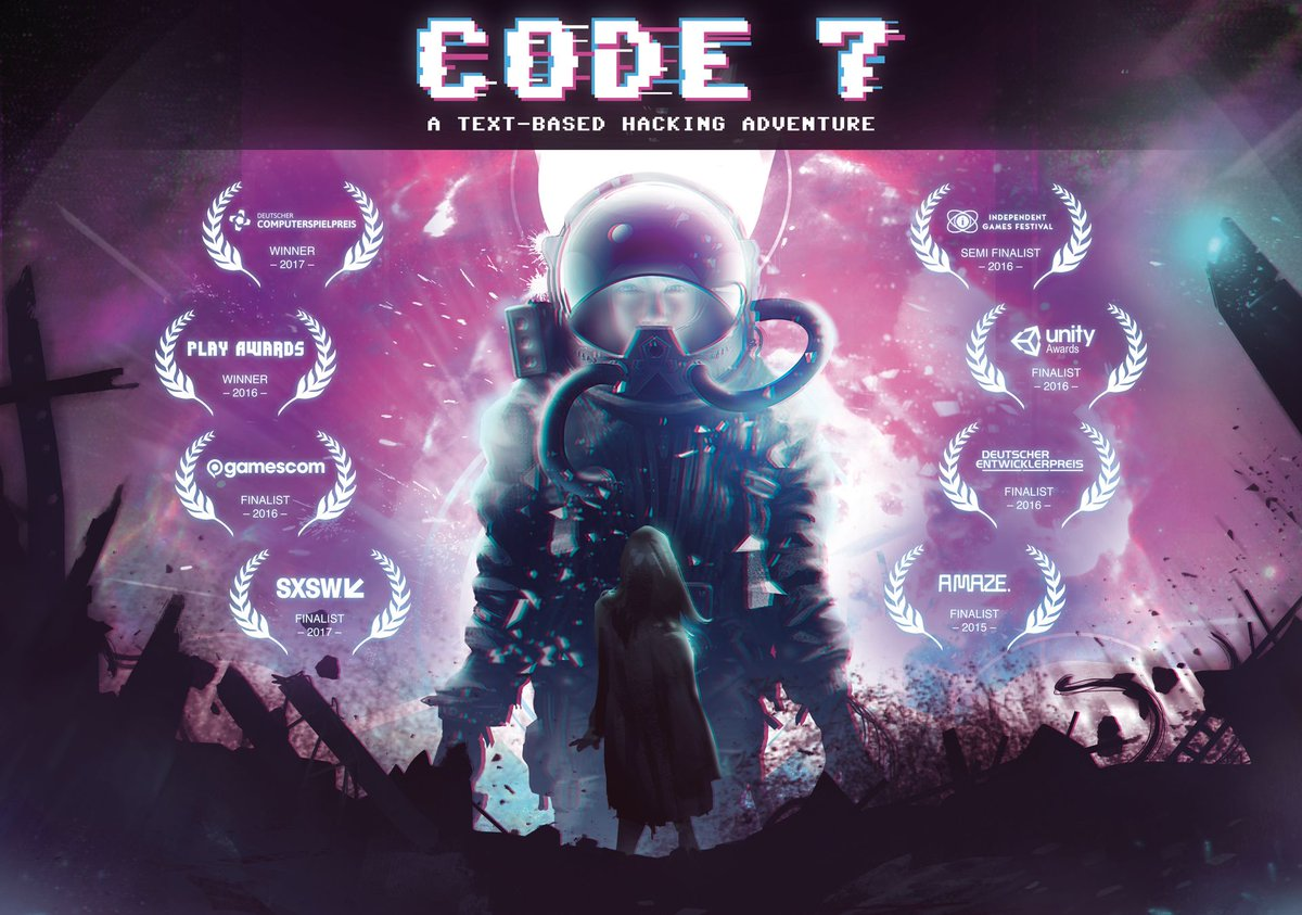 @GoodwolfStudio&#39;s #Code7 #Episode1 is out! Have you played #Code7 #Episode0 yet on #Utomik? Get ready to have your mind BLOWN! #indiegame<br>http://pic.twitter.com/zI5WKri0vm