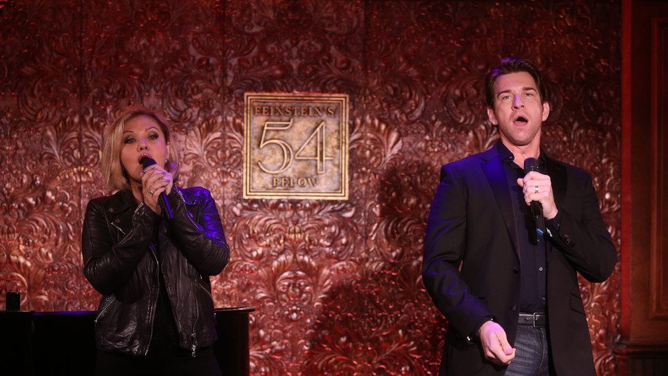 .@Andy_Karl and @official_orfeh share songs and stories on their new L...