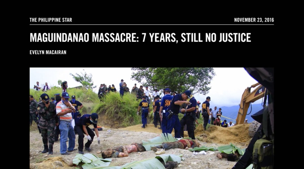 In 2009, the largest massacre of reporters in world history occurred in the Philippines. #VICEonHBO
