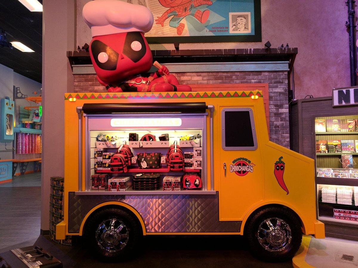 Ryan Penagos Black Lives Matter On Twitter Massive Deadpool Chimichanga Truck And Plenty Of Cool Pool Merch At Funko Hq