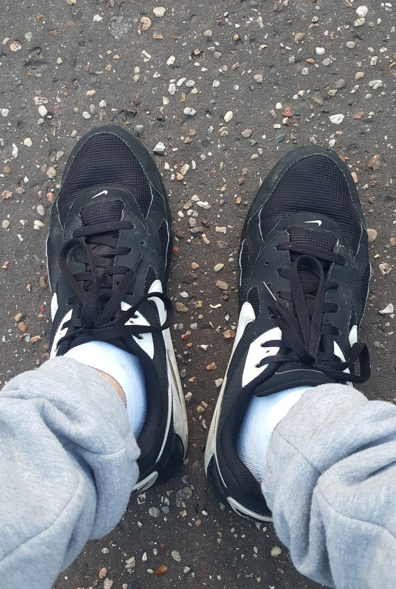 Jealous of the dirt beneath my feet... that&#39;s cause your a disgusting little fuck   Get down and serve  #nikes #trainers #footfetish #GOD <br>http://pic.twitter.com/Vclo2EIgWI