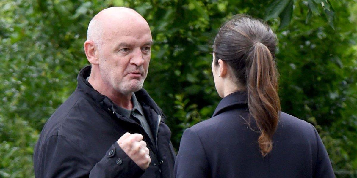 Corrie films baby bombshell for Pat Phelan as he explodes over Nicola'...