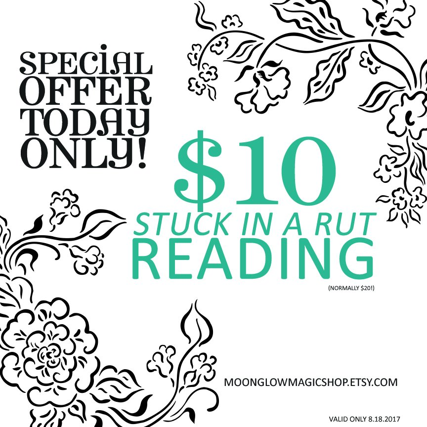 Today Only!!  http:// etsy.me/2woI2Pp  &nbsp;   #etsy #witchcraft #tarot #onsale #tarotreadings #etsyseller #shopsmall #wicca #booknow #advice<br>http://pic.twitter.com/uz3Z96ThpX