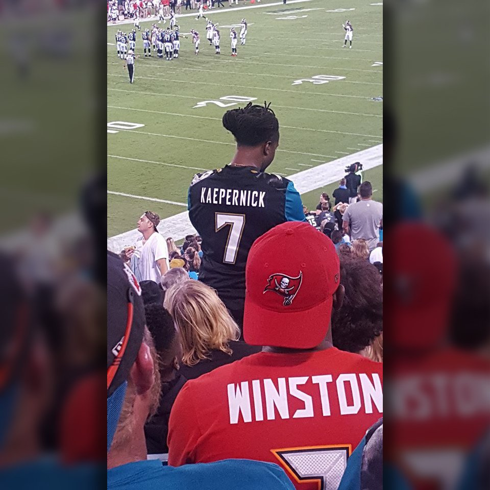 Spotted at the @Jaguars game last night 👀  (via @kublock) https://t.co...