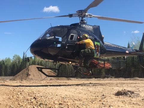 Learn about Alex's wildfire adventures as a Helitack member across the...