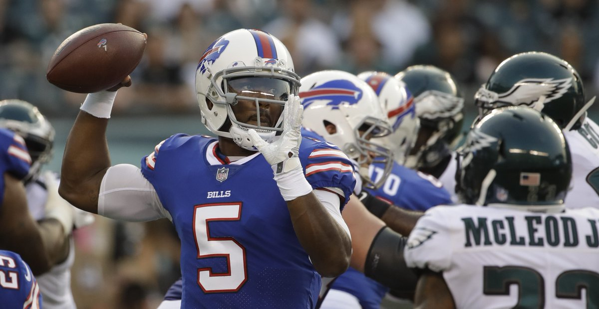"Bills make it clear, ""all the confidence in the world"" in Tyrod Taylor..."