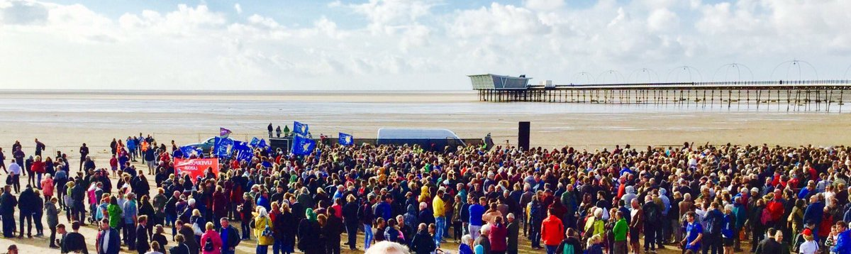 Corbyn attracts crowd of 6,000 in marginal Southport seat - we&#39;ll take that in the next GE #Corbyn #Southport #LabourParty<br>http://pic.twitter.com/qNKCQmLlkK