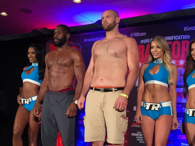 Bryant Jennings 230.8 pounds, Daniel Martz 255.5. https://t.co/17gi1kV...