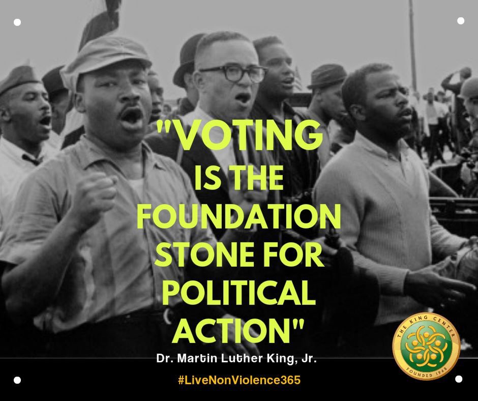 'Voting is the foundation stone for poli...