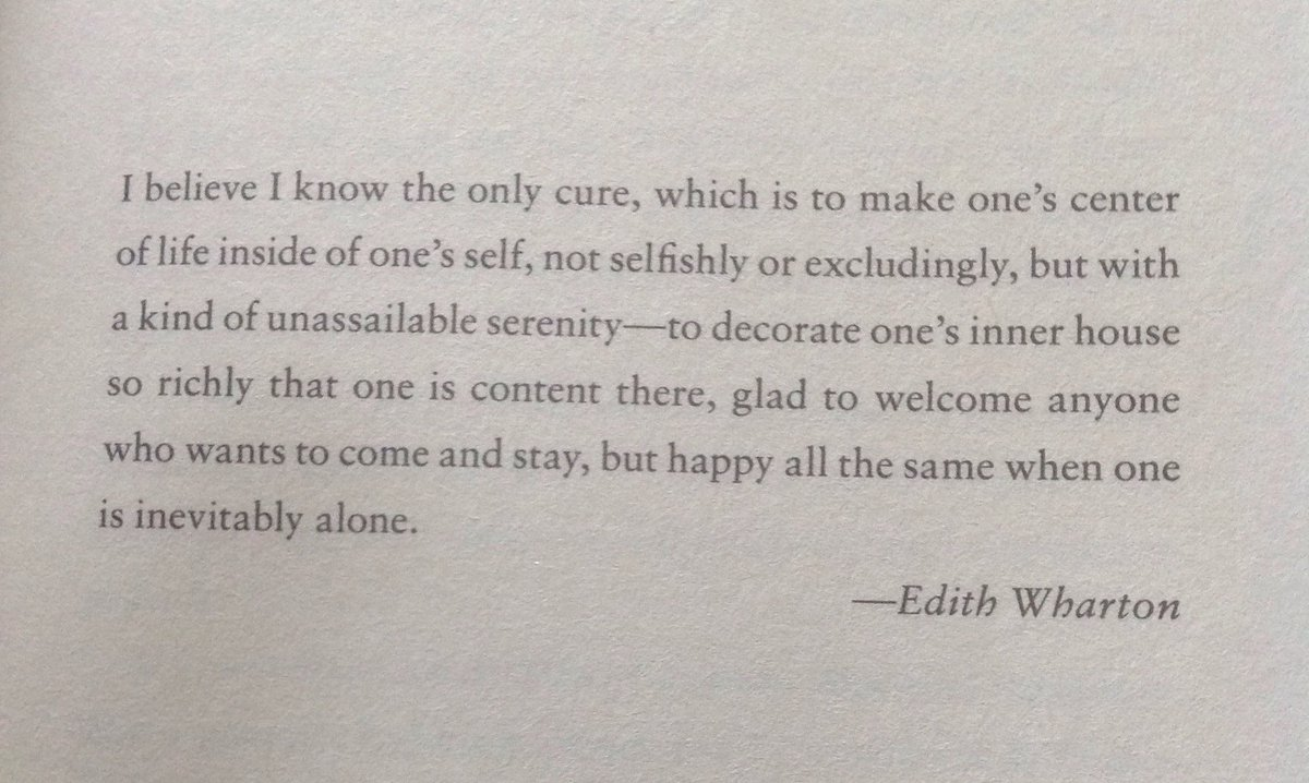 ~Wise words from Edith Wharton https://t.co/2MuHP8cuSX