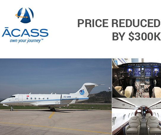 Price Reduced Significantly for 2008 Challenger 3  at ACASS. Click here #bizjet #bizav #aircraftforsale  http:// ow.ly/4goD30ewwrn  &nbsp;  <br>http://pic.twitter.com/nHeSulaAe8
