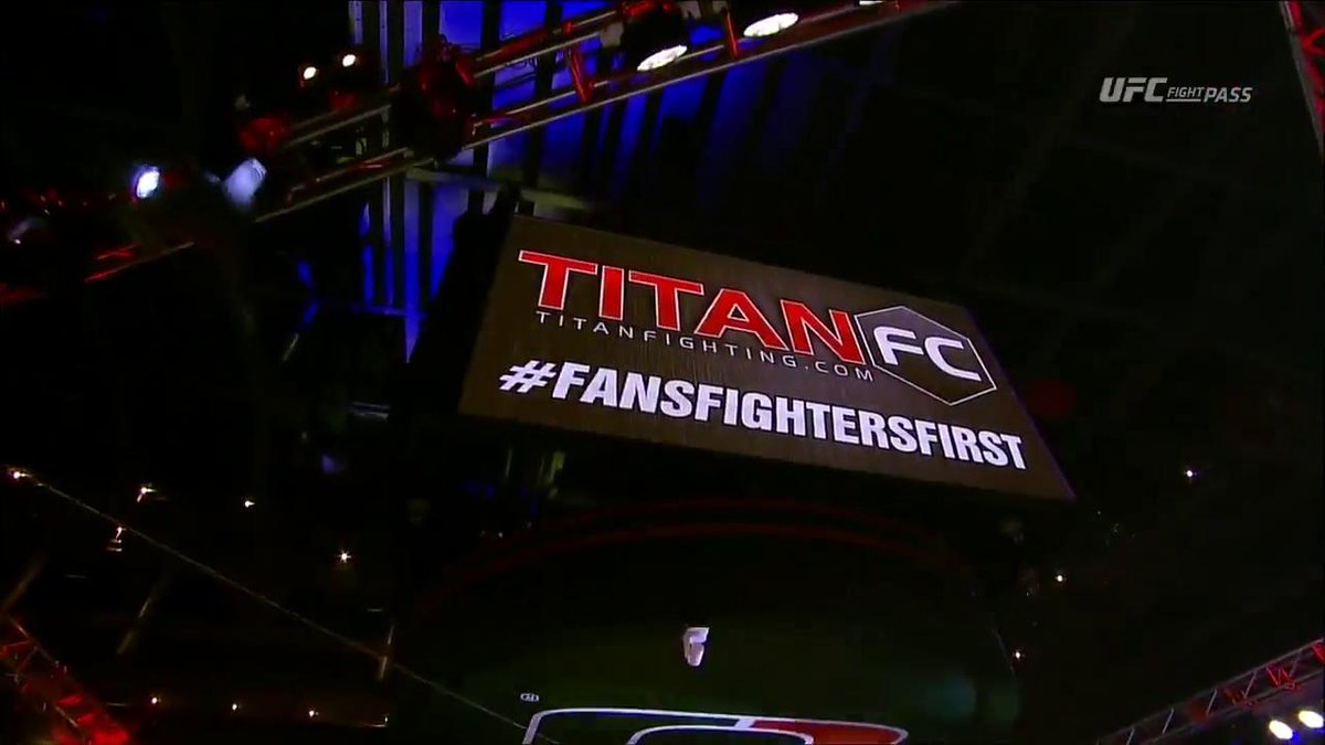#TitanFC45 is LIVE NOW! https://t.co/swL2wvbmzS