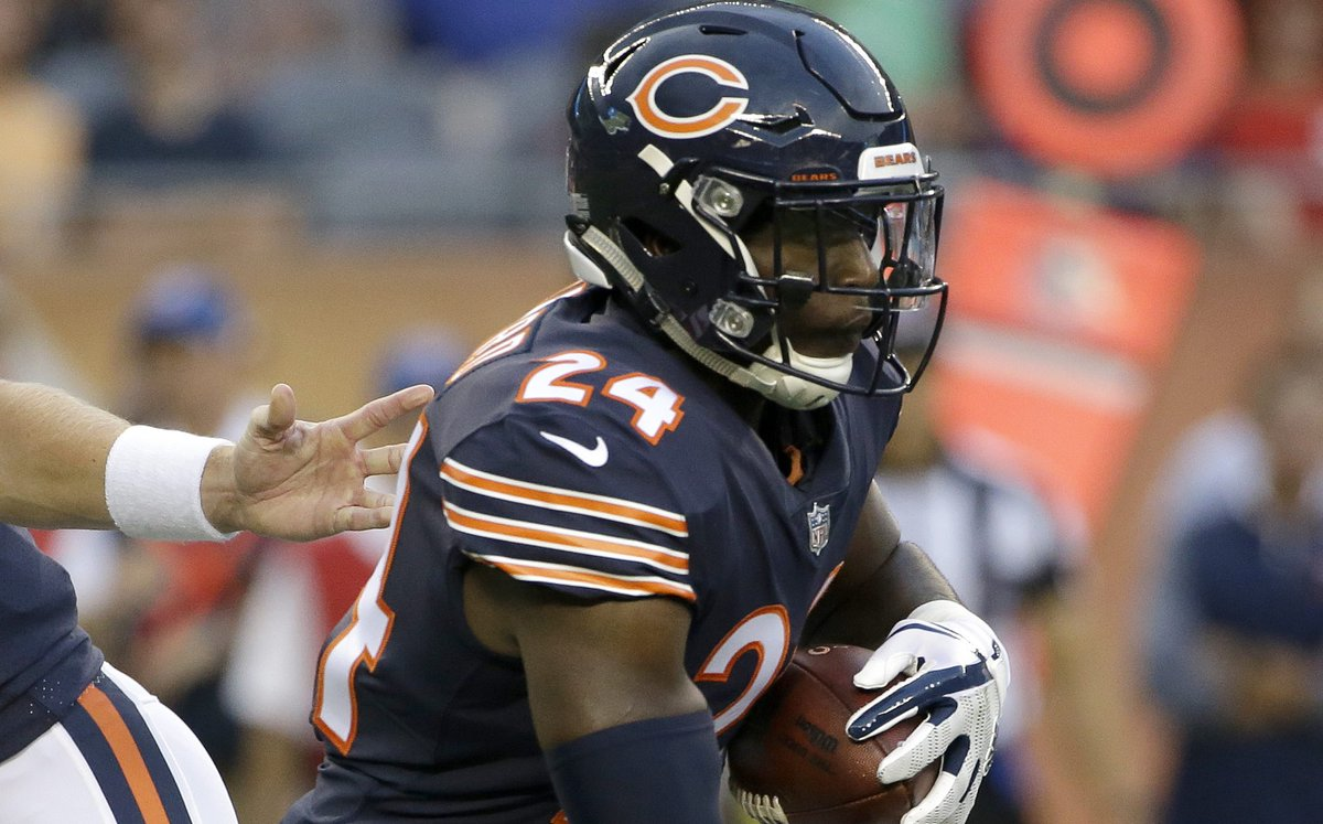 Bears RB Jordan Howard to miss preseason game with eye injury https://...