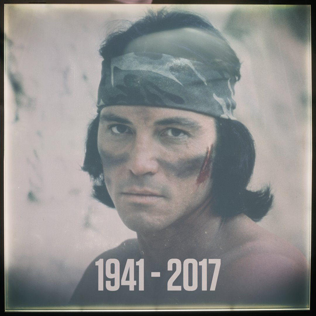 RIP Sonny Landham. https://t.co/1WY34Fzvij