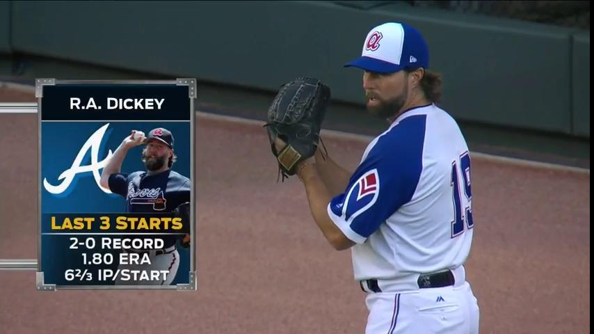 MC Hammer is a day away, but of late when it comes to R.A. Dickey ......