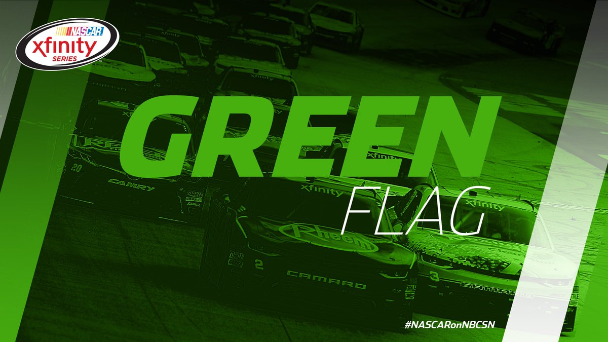 It's @BMSupdates at night. We're GREEN! #FoodCity300  Follow: https://...