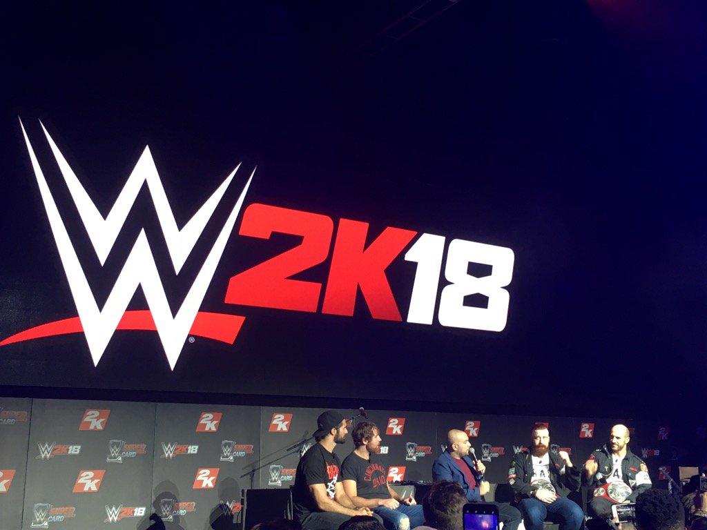 #2KSummerSlam @WWERollins #DeanAmbrose @WWESheamus @WWECesaro #WWE2K18...