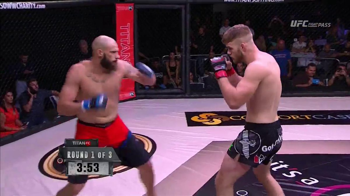 Steve Mowry with the dominant win! #TitanFC45 https://t.co/KWfiIdLKRc