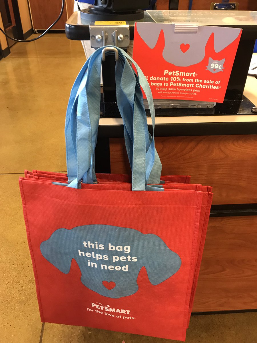 petsmart2384 on twitter only 99 cents you get a reusable shopping bag and 10 of the sale. Black Bedroom Furniture Sets. Home Design Ideas