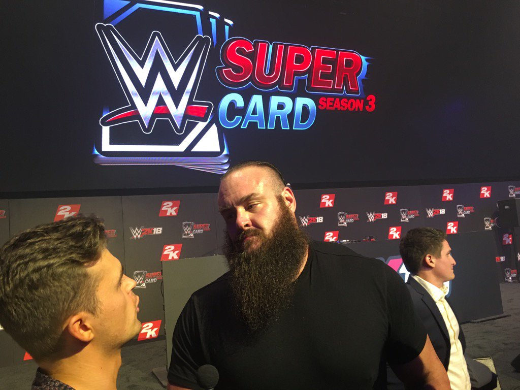 .@BraunStrowman at #2KSummerSlam. #WWE2K18 @WWESuperCard https://t.co/...