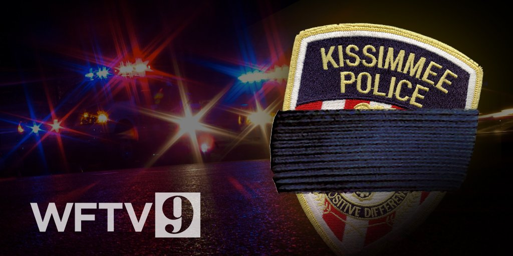 Our thoughts and prayers are with the Kissimmee Police Department tonight on the loss of 2 officers, who were shot and killed.