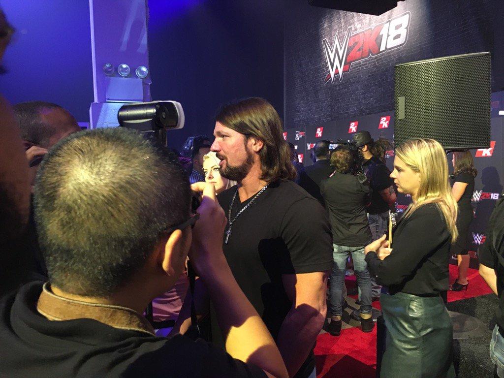 .@AJStylesOrg #2KSummerSlam #WWE2K18 @WWESuperCard https://t.co/bmPkHw...