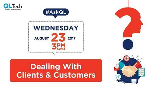 Join in for #AskQL #TwitterChat on #Wednesday, August 23 to discuss! ://