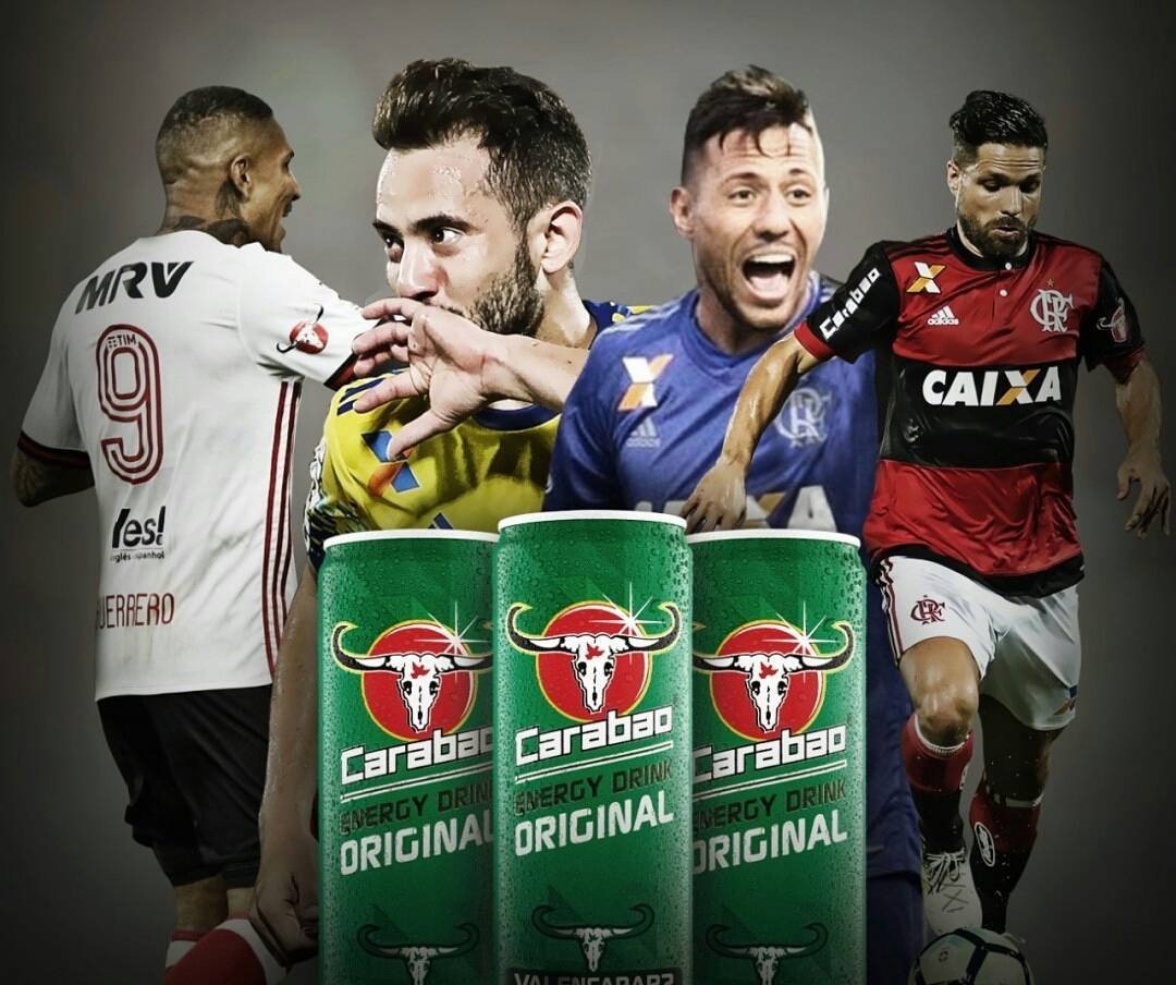 Carabao Brasil or Energetic of the Nation! #Carabao #Energy #Drink #VaiEncarar #FlaCarabao #Flamengo <br>http://pic.twitter.com/GTOprTpvNI