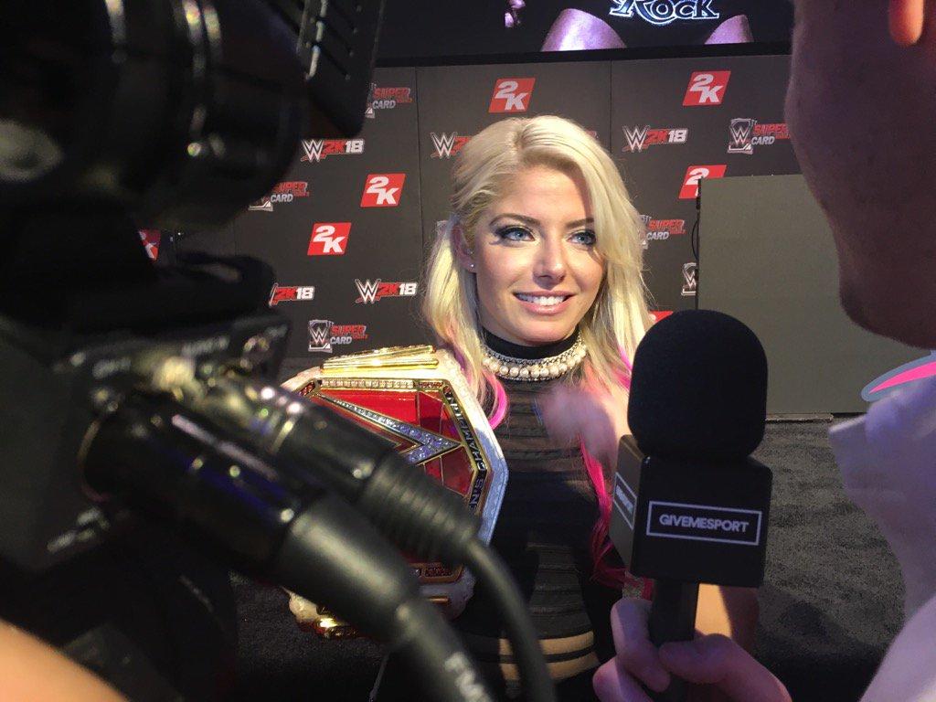 .@AlexaBliss_WWE #2KSummerSlam #WWE2K18 @WWESuperCard https://t.co/Mhf...
